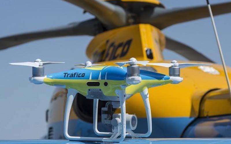 Los drones de la DGT empezarán a multar el 1 de agosto