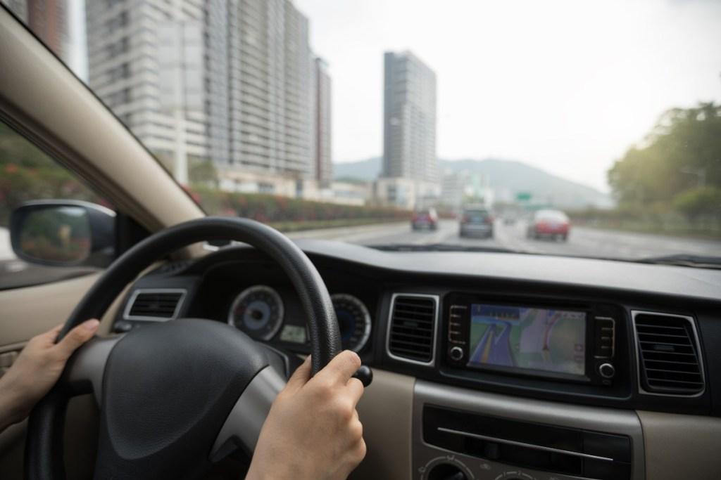 Distancia seguridad carretera