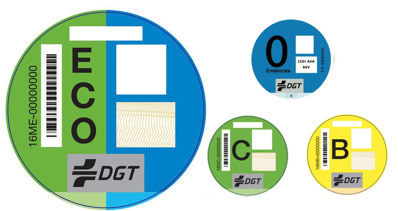 La DGT prepara finalmente un cambio en las etiquetas medioambientales