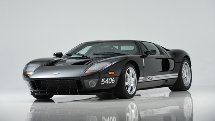 Ford Gt Prototype Goes To Auction