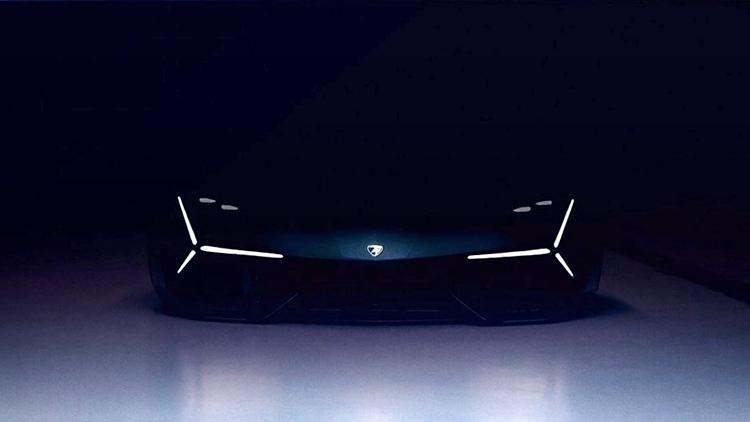 Preview Of An Future Electric Lamborghini Terzo Millennio Auto