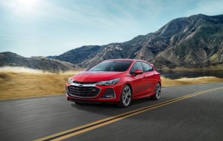 2019 Chevy Cruze and Spark
