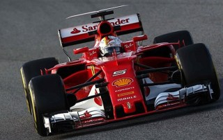 Lewis Hamilton feels the heat from Ferrari