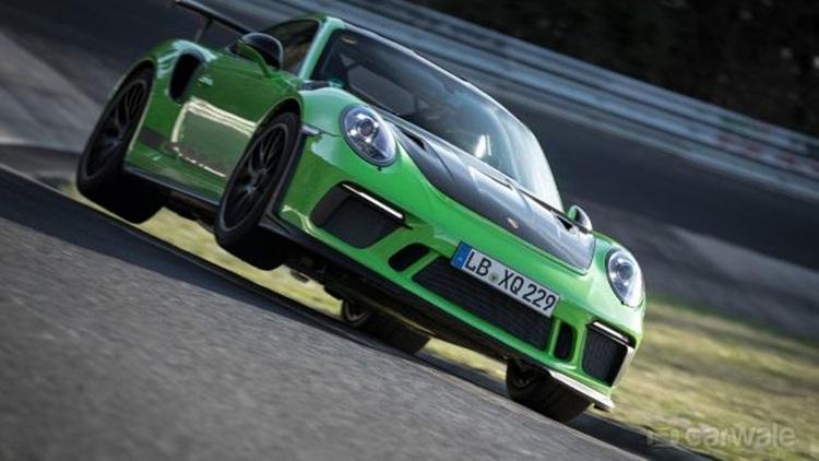 Porsche 911 GT3 RS lapped