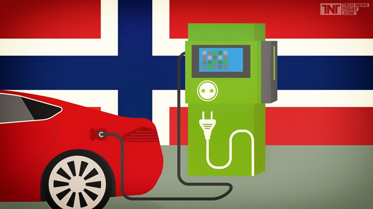 With Norway again: 6.5% of all registered cars are now Electric