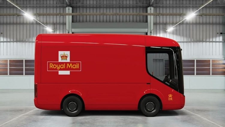 Royal Mail – so sweet delivery van and it's a fully electric