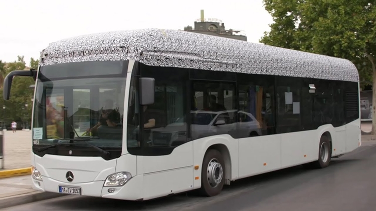 Electric Mercedes-Benz Citaro Buses taking over Europe