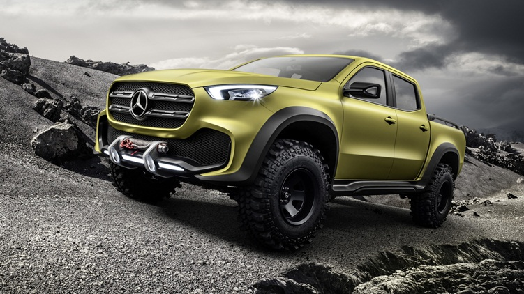 more power to Mercedes-Benz X-Class