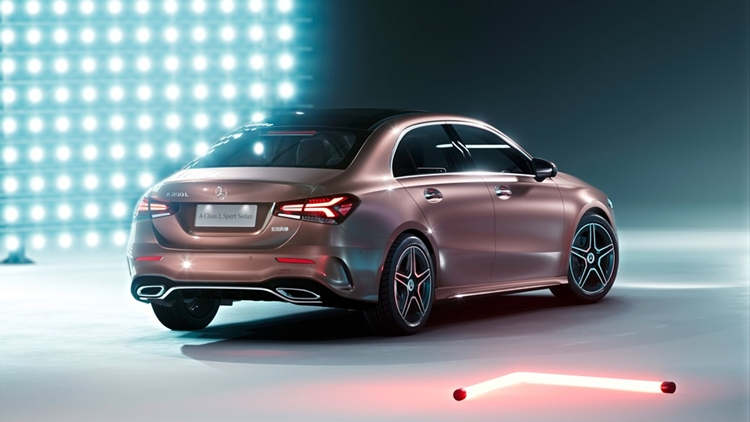 New Mercedes A-class with new diesel engine options