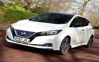 Auto Express Nissan Leaf review