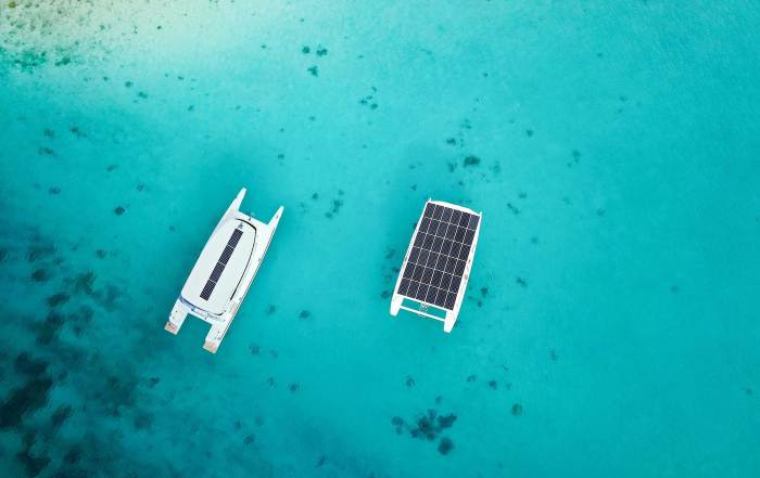 solar electric boats