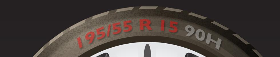 Medida de neumáticos
