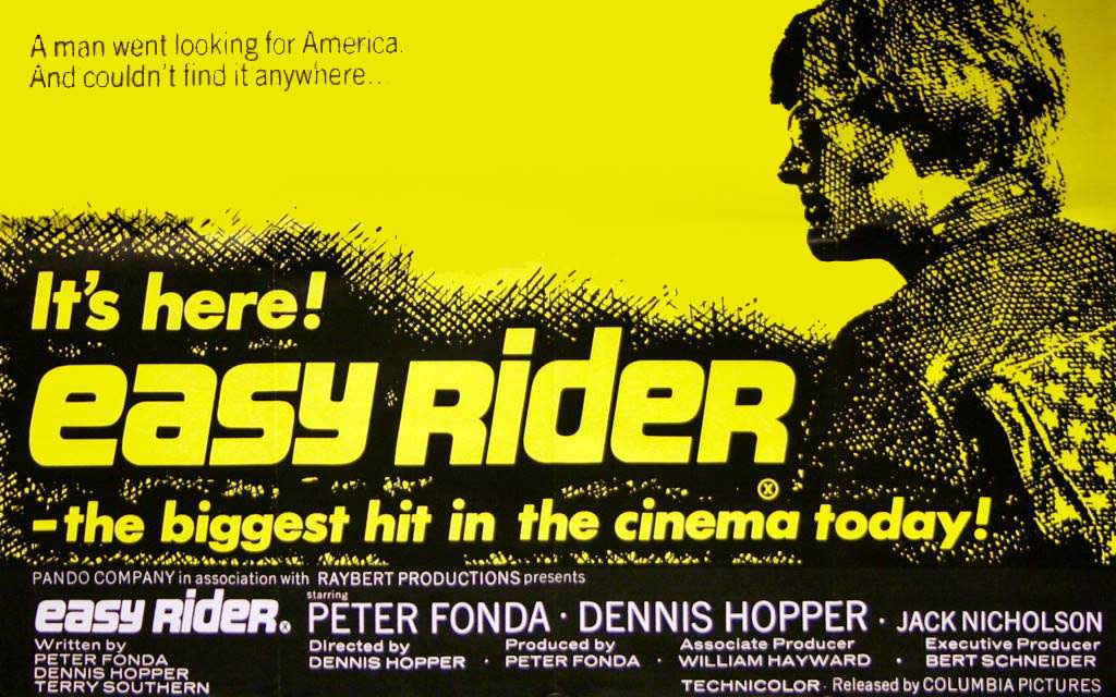Easy Rider or how to be born to be wild