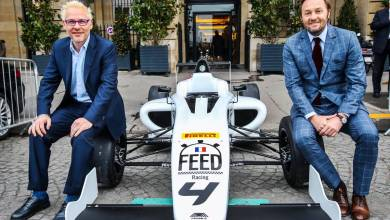 Jacques Villeneuve will help young people get to Formula 1