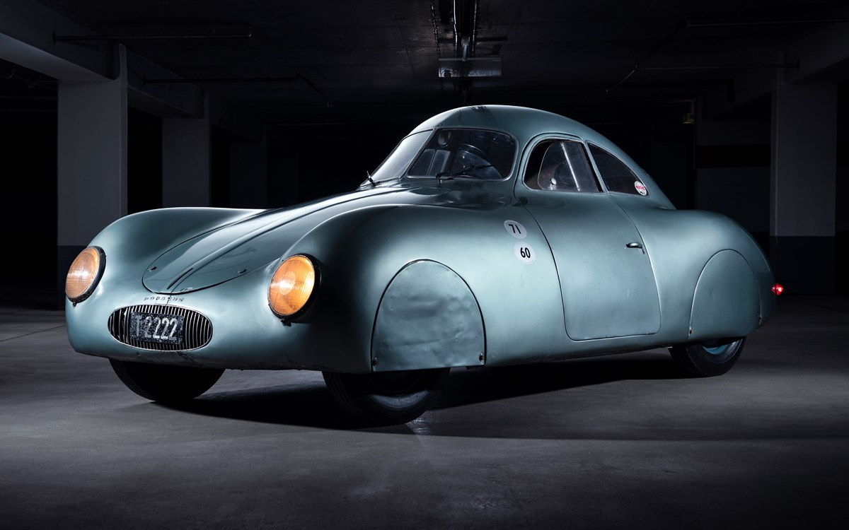 Porsche Type 64 60K10: ¿Cuánto pagarías por el primer Porsche de la historia?