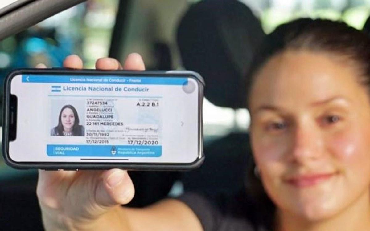 Licencia Digital: Más de 140 mil argentinos ya la utilizan