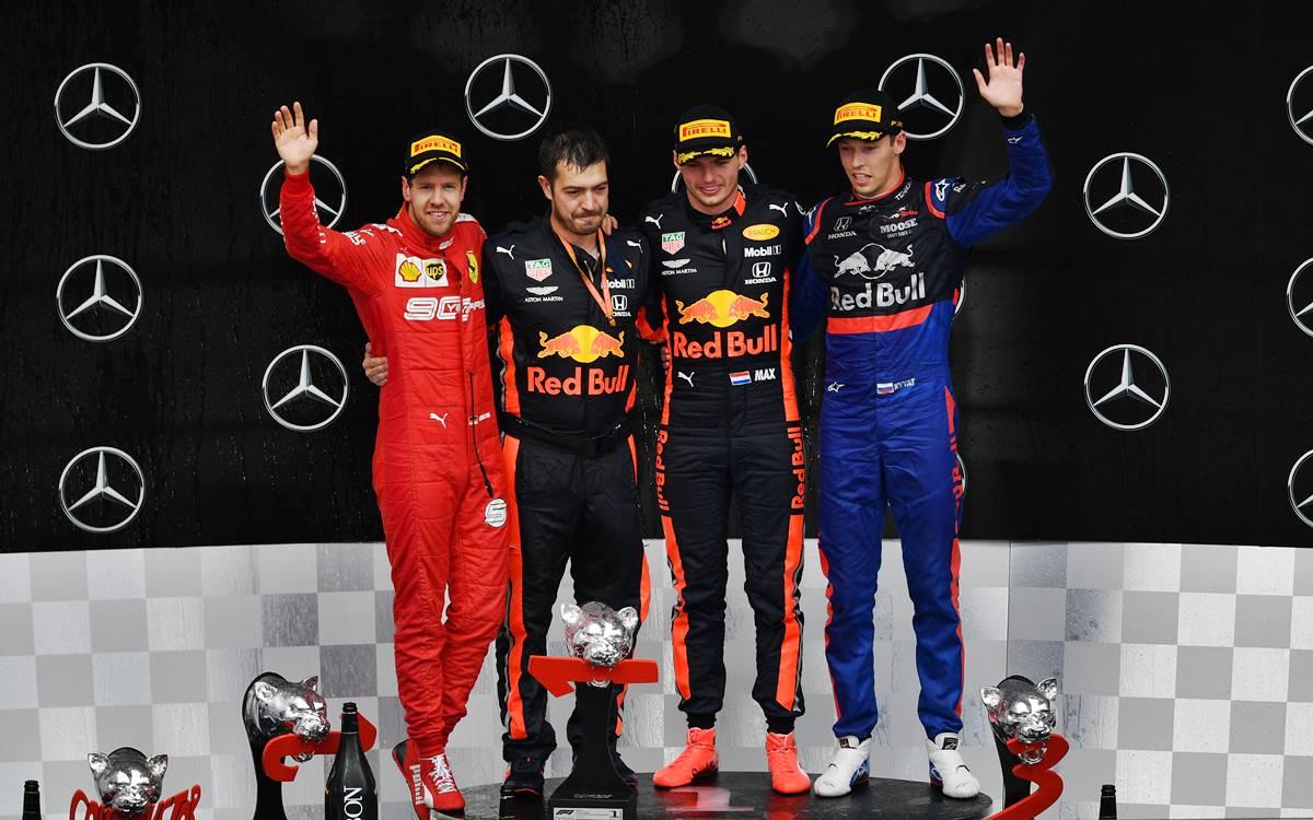 Max Verstappen gana un loco GP de Alemania