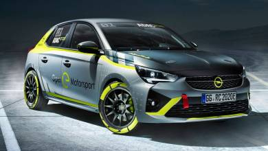 Opel developed an electric car for the rally