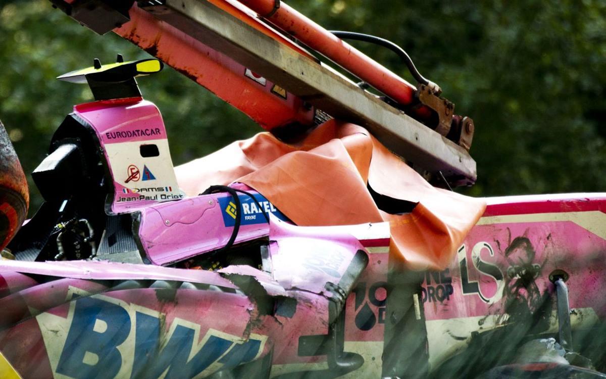 Anthoine Hubert muere en espectacular accidente en Spa-Francorchamps