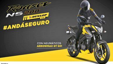 Llega la Rouser NS200 Dunlop Edition