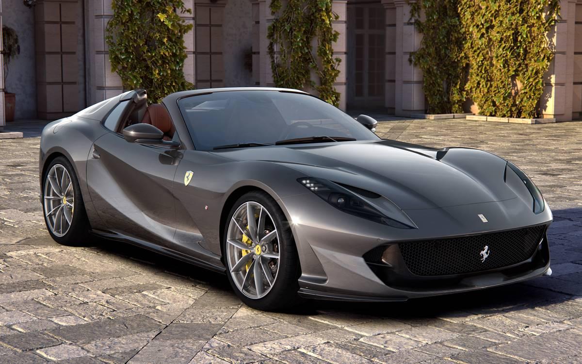Ferrari 812 GTS: 800 CV y 340 km/h a cielo abierto