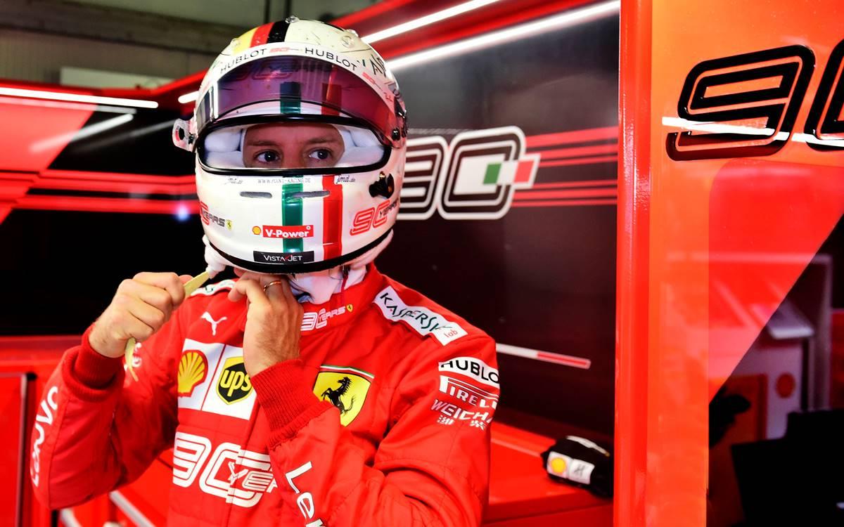 Sebastian Vettel duramente castigado por la prensa italiana