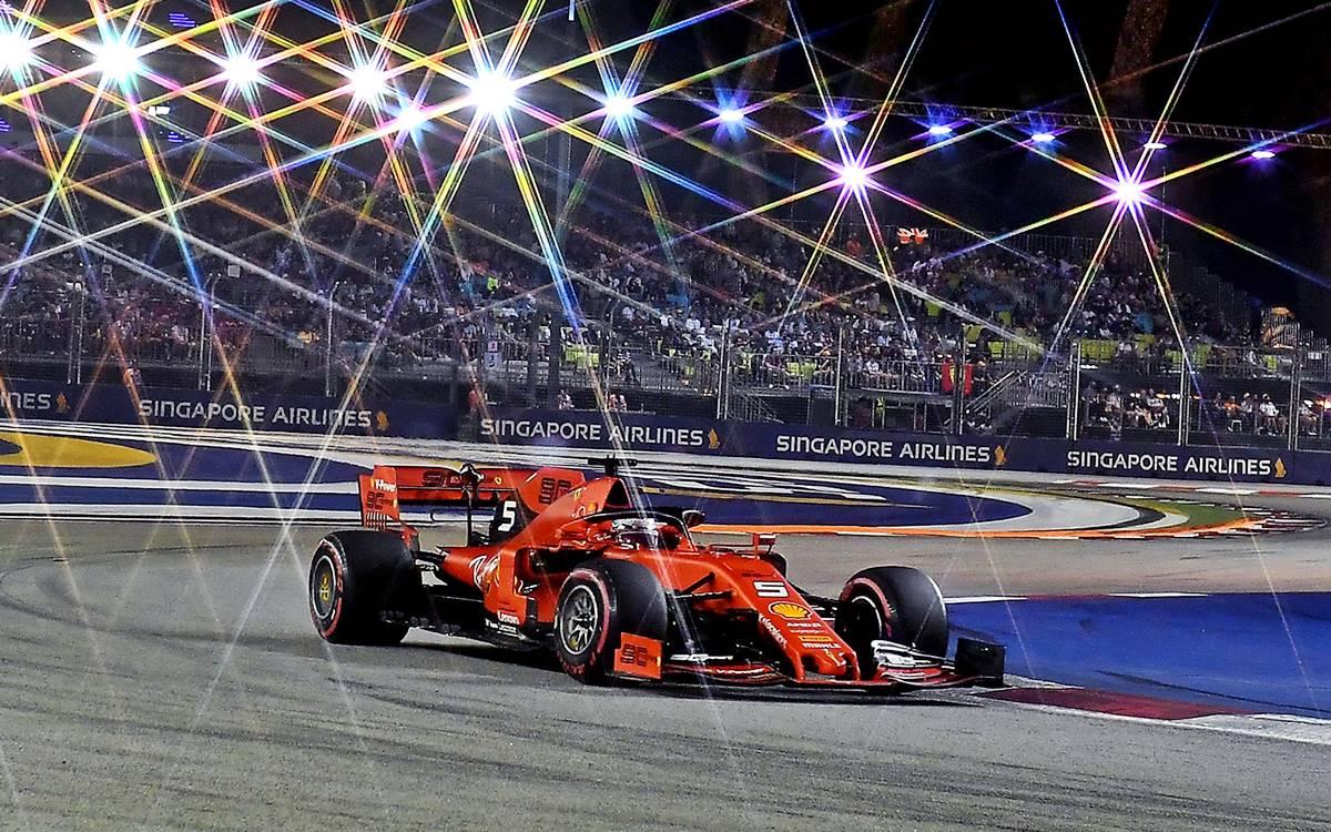 Sebastian Vettel revive con su triunfo en el GP de Singapur