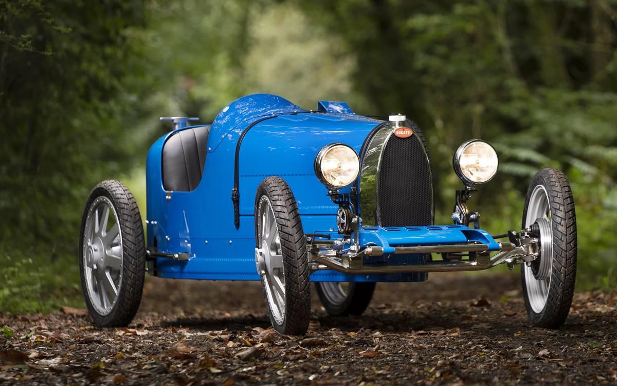 Bugatti Baby II: Para chicos y grandes