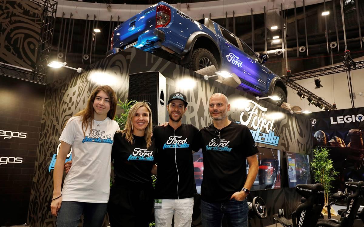 El equipo Fordzilla se presentó en el Madrid Games Week