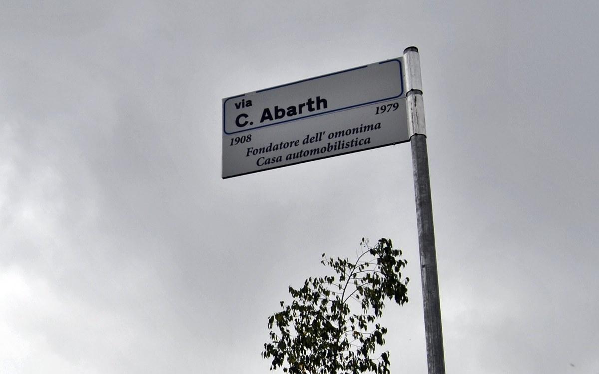 Carlo Abarth tiene su propia calle en Turín