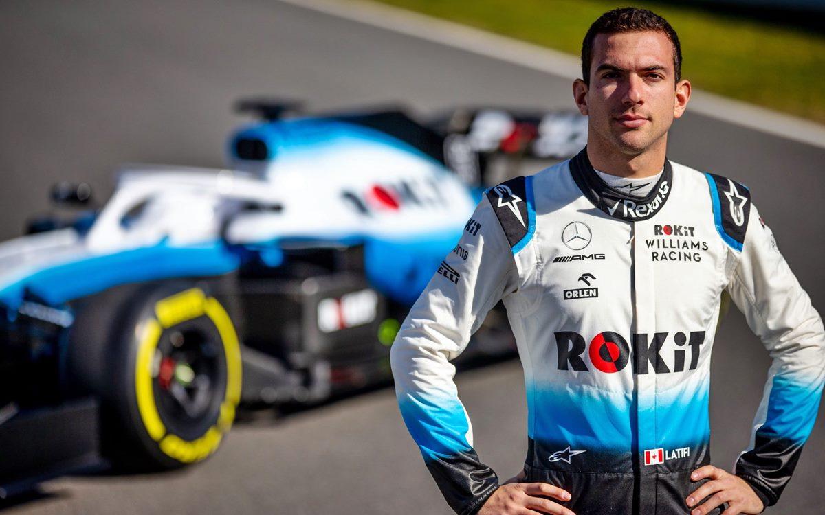 Nicholas Latifi correrá para Williams y así la F.1 de 2020 tiene su grilla completa