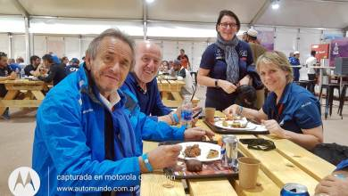 Jacky Ickx, David Richards, Ellen Lohr and Jutta Kleinshmidt