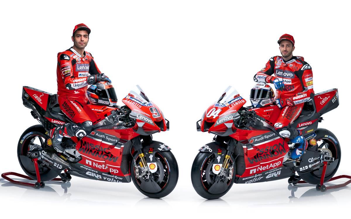 El equipo Ducati de MotoGP con expectativas renovadas