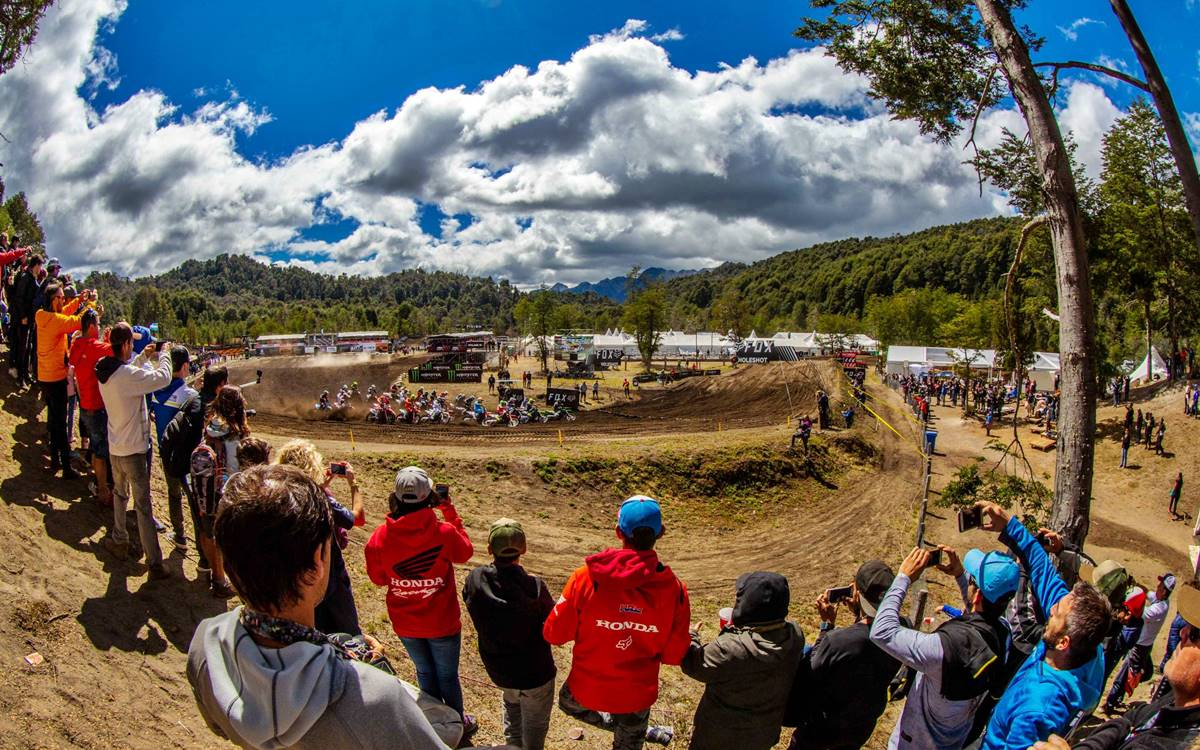 Everything ready for the MXGP Patagonia Argentina