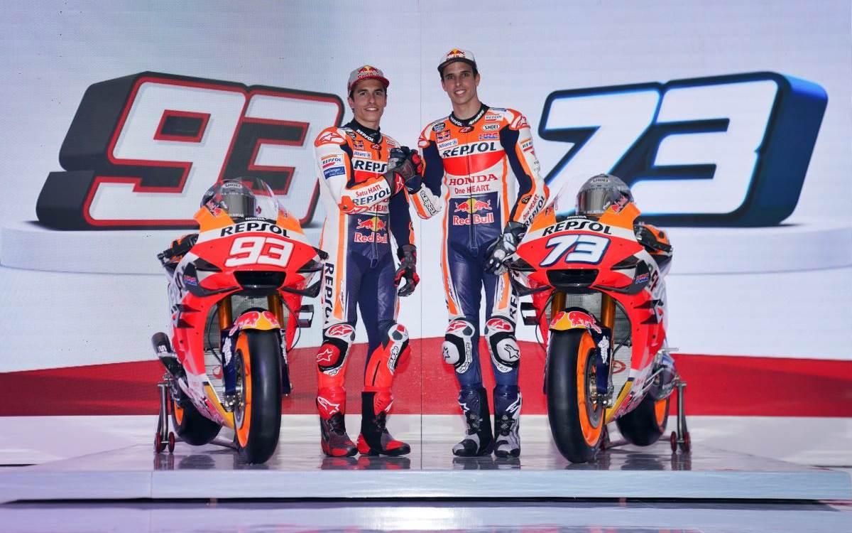 Marc y Àlex Márquez prometen el protagonismo de Honda en MotoGP