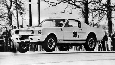 Flying shelby