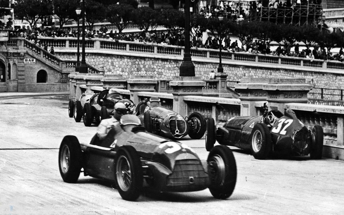 Juan Manuel Fangio Monaco 1950