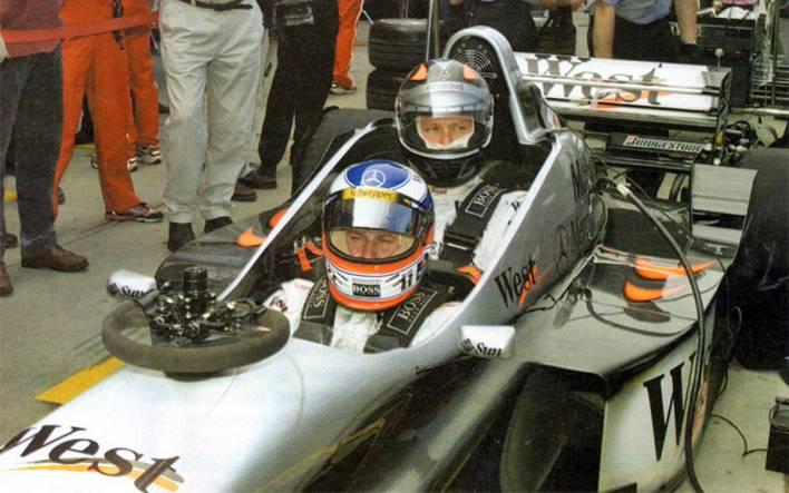 McLaren MP4 / 98T-Mercedes