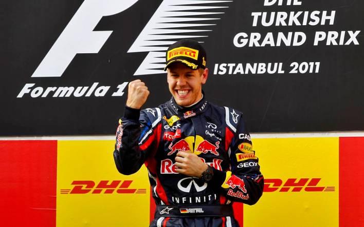 Sebastian Vettel Turquía 2011