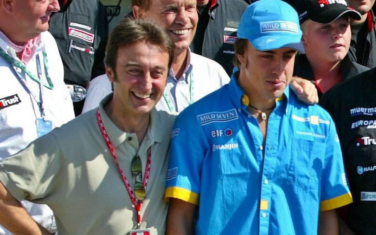 Adrián Campos y Fernando Alonso