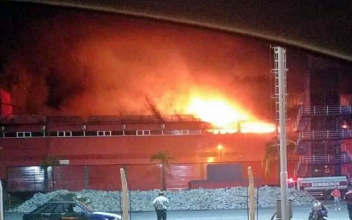 Incendio autódromo Termas de Río Hondo