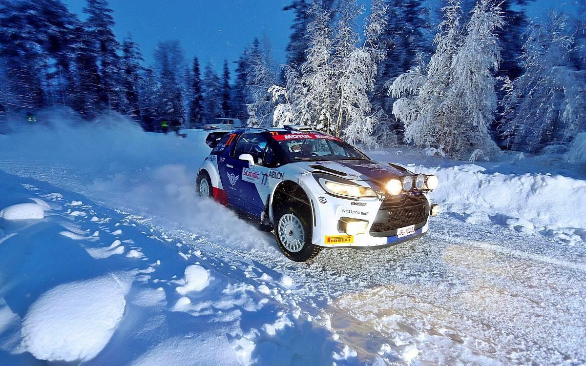 Valtteri Bottas rally