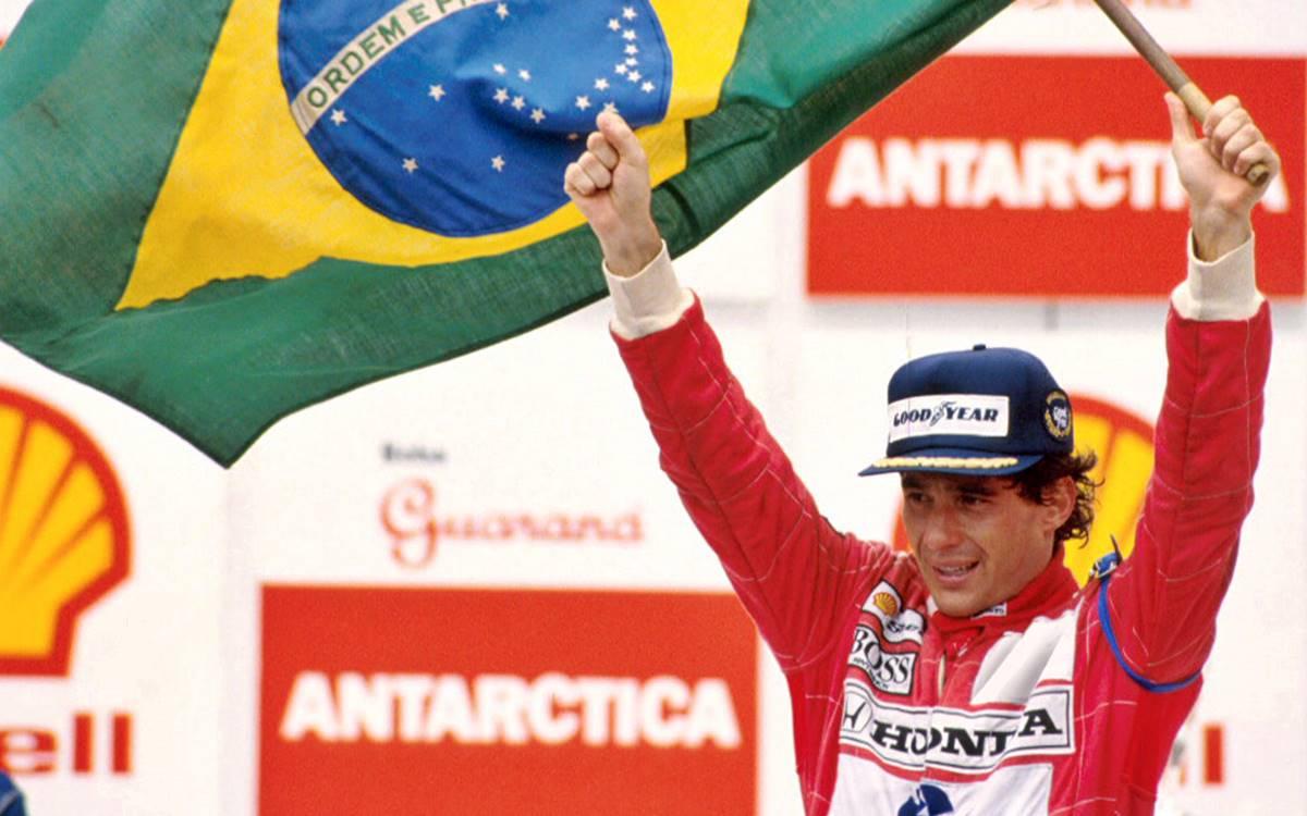 Ayrton Senna - Gran Premio de Brasil 1991