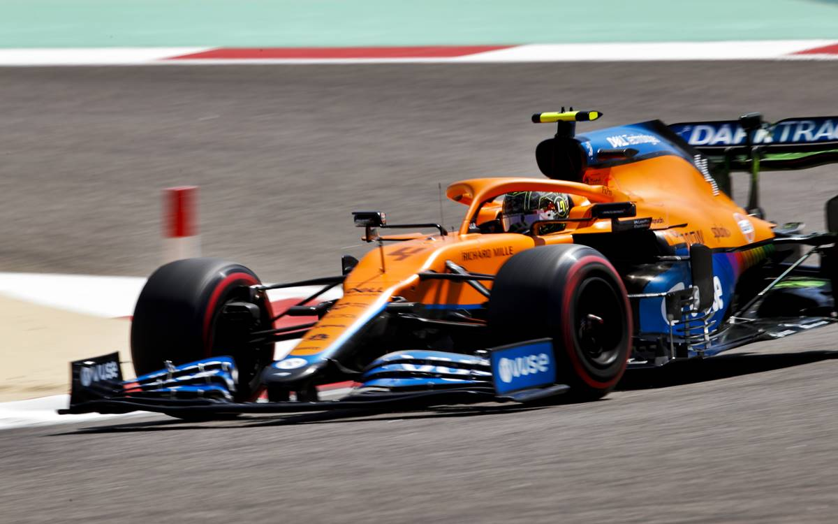 McLaren difusor
