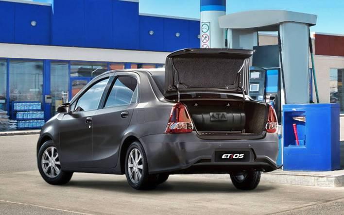 Toyota Etios CNG