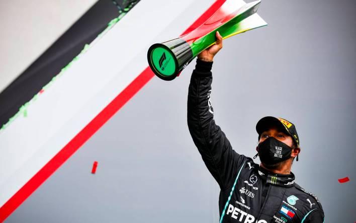 Lewis Hamilton Portugal 2020