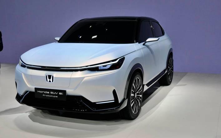 Shanghai Salon 2021 Photo 1 Honda SUV e