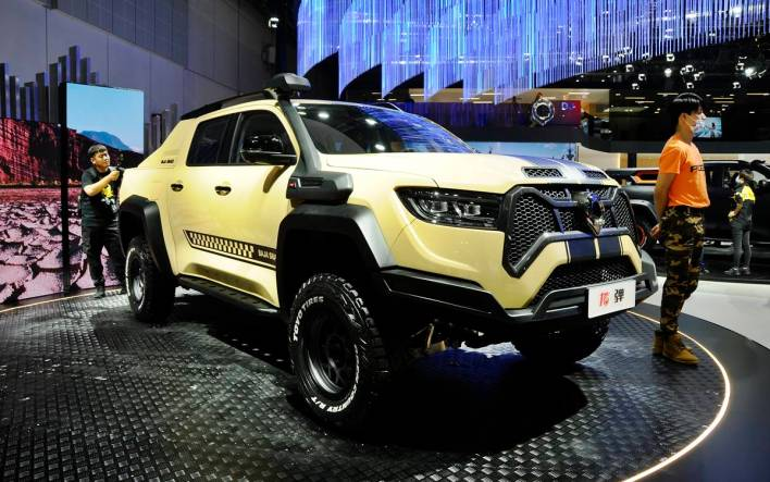 Salon de Shangai 2021 Foto 4 Great Wall Poer Baja Snake
