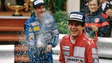 Ayrton Senna Monaco 1991