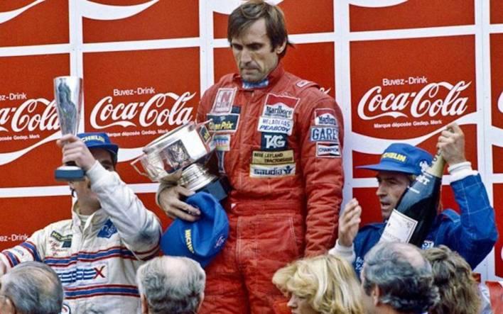 Carlos Reutemann Zolder 1981